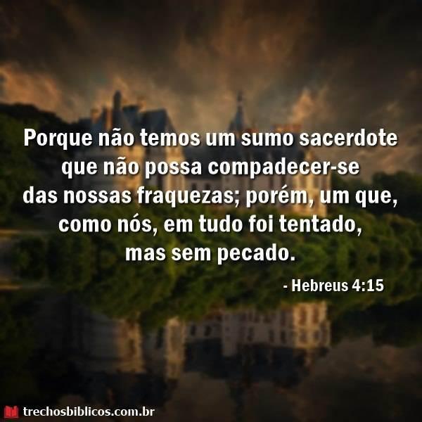 Hebreus 4:15 11