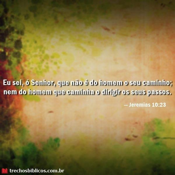 Jeremias 10:23 6