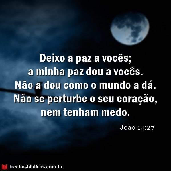João 14:27 17