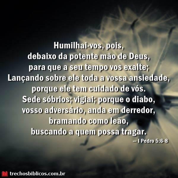 1 Pedro 5:6-8 7