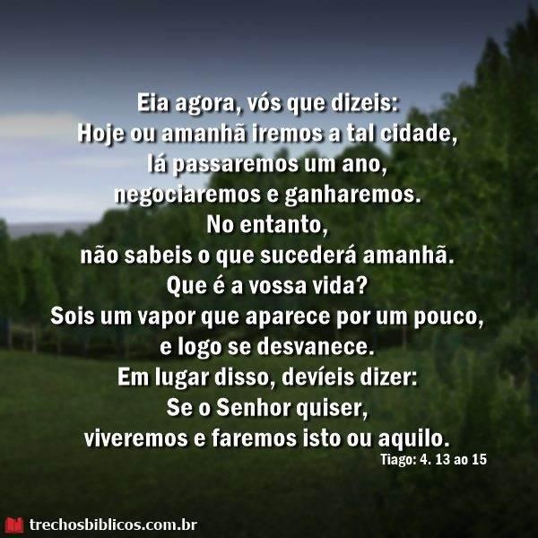 Tiago 4:13-15 9