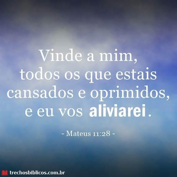 Mateus 11:28 13