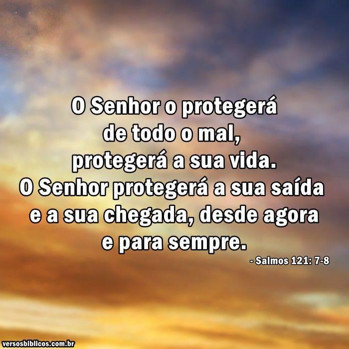 Salmo 121: 7-8 11