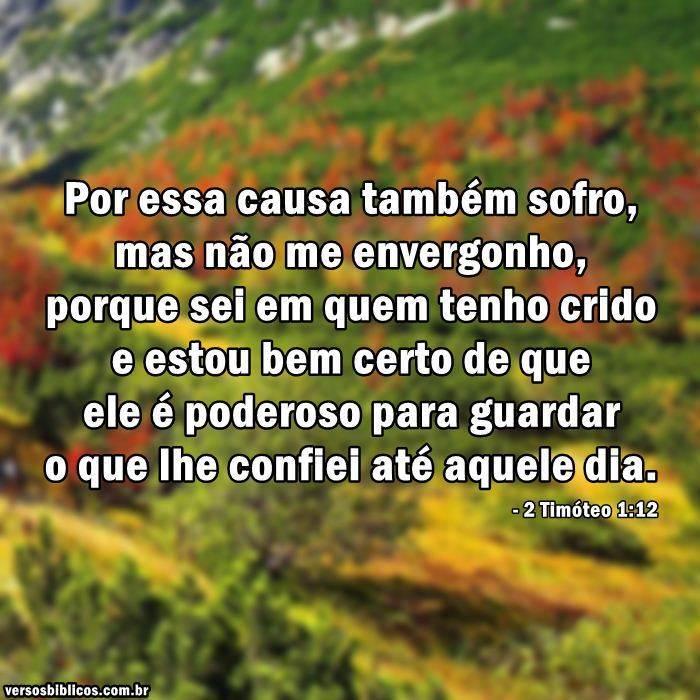 2 Timóteo 1:12 13