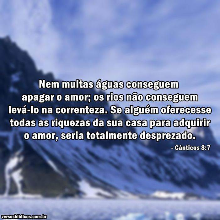 Cânticos 8:7 16