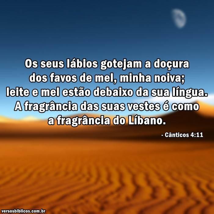Cânticos 4:11 18
