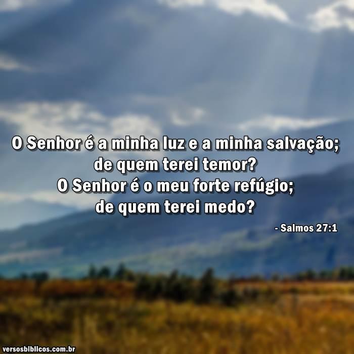 Salmos 27:1 4