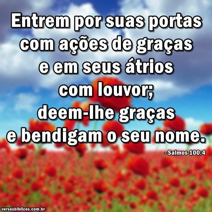 Salmos 100:4 10