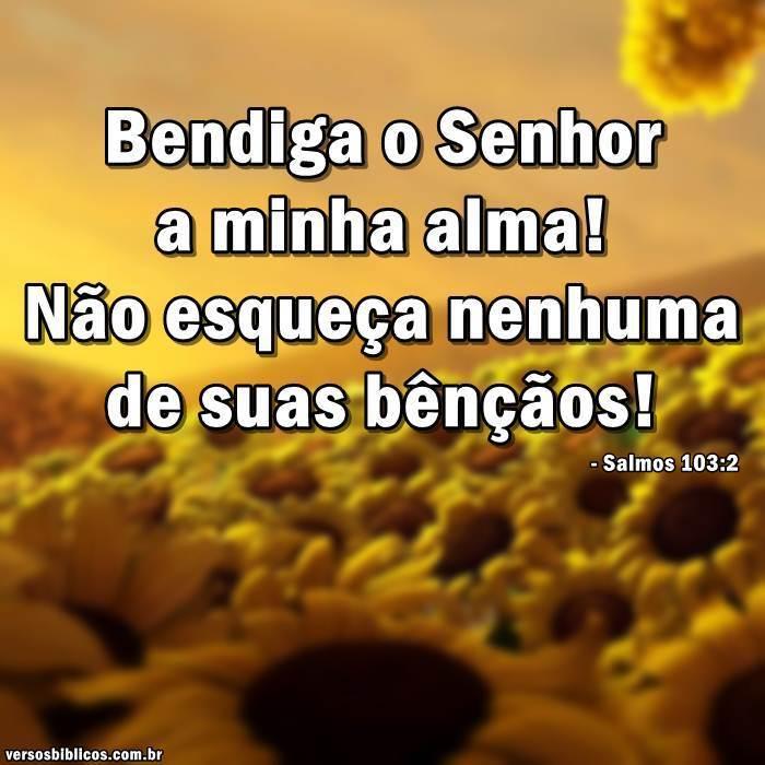 Salmos 103:2 7