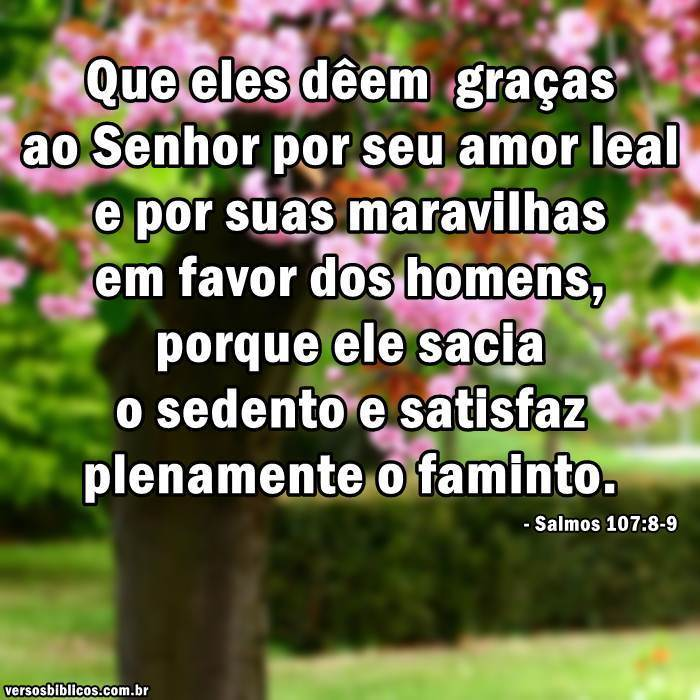 Salmos 107:8-9 9