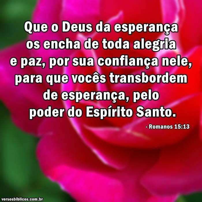 Versículos De Esperança Versículos Biblicos