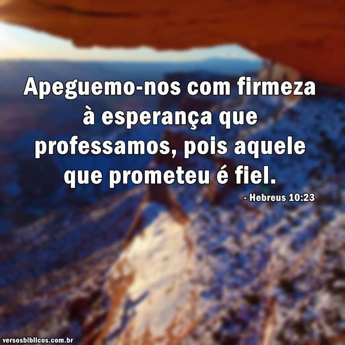 Hebreus 10:23 18