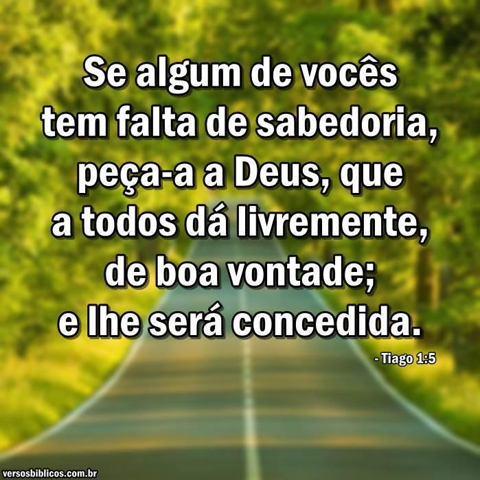 Tiago 1:5 7