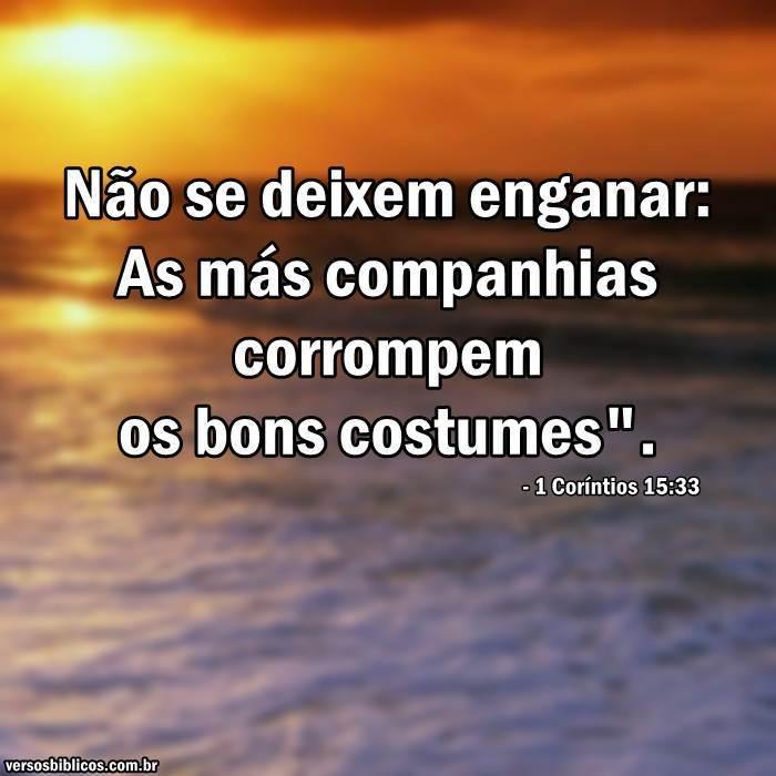 1 Coríntios 15:33 19