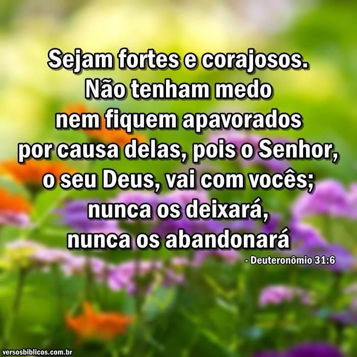 Deuteronômio 31:6 6