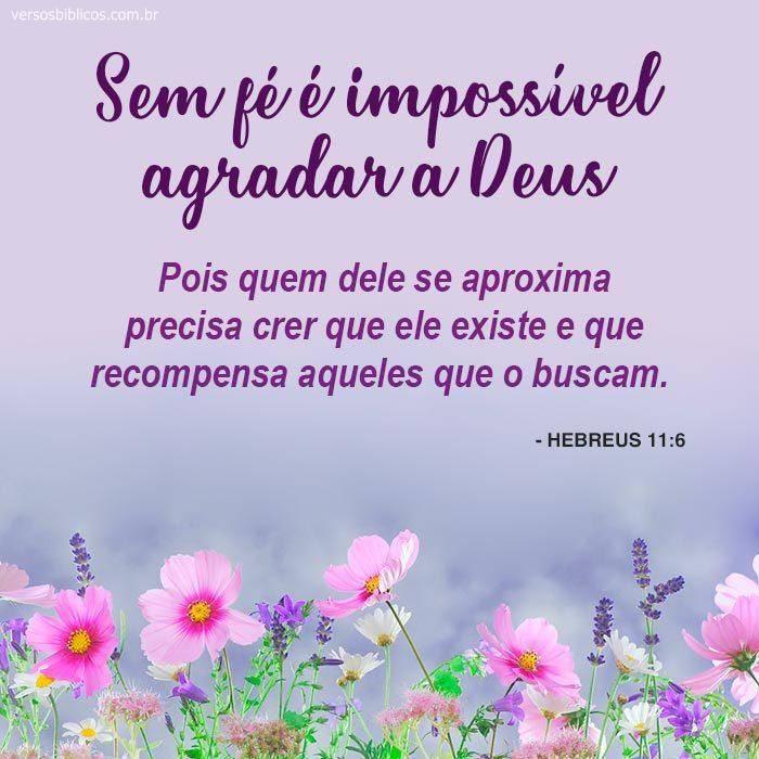 Sem Fé é impossível Agradar a Deus 3