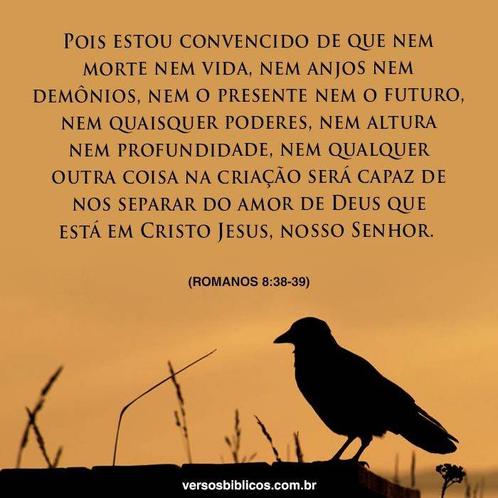 Nada é Capaz de nos Separar do Amor de Deus 6