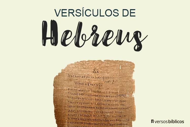Versículos de Hebreus 1