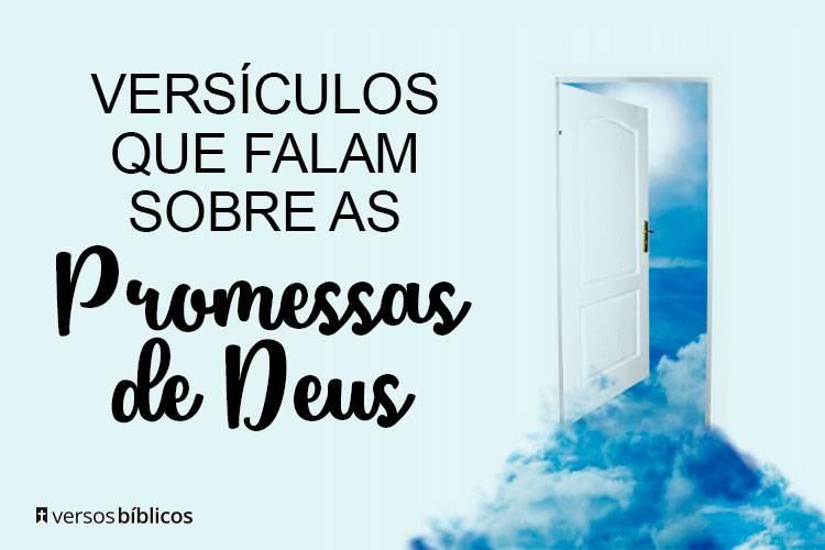 Versículos que Falam sobre as Promessas de Deus 16