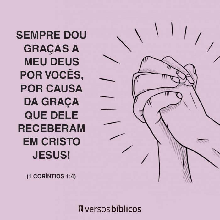Versículos de Agradecimento a Deus cheios de Fé 10