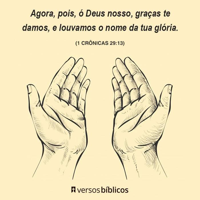 Versículos de Agradecimento a Deus cheios de Fé 4