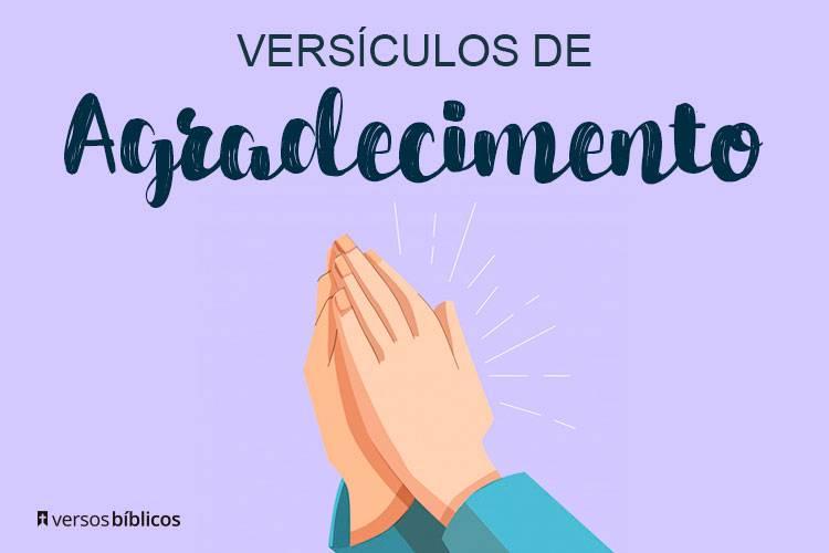 Versículos de Agradecimento a Deus cheios de Fé 31