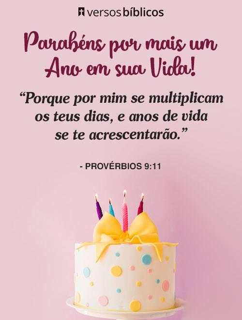 Versículos De Aniversário Cheios De Bençãos E Proteção