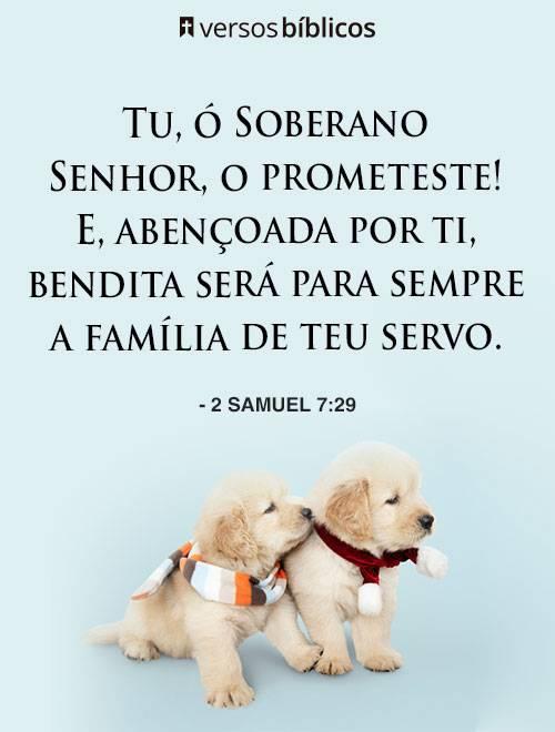 Versículos sobre Família cheios de Amor 1
