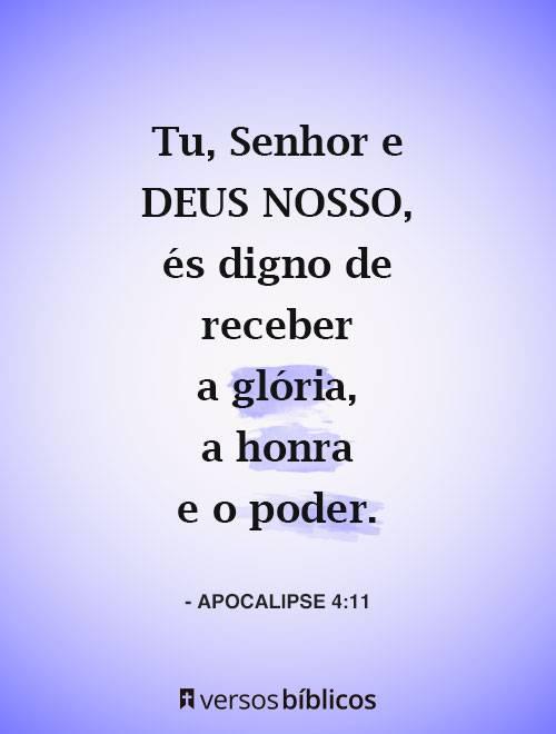 Versículos de Apocalipse 1