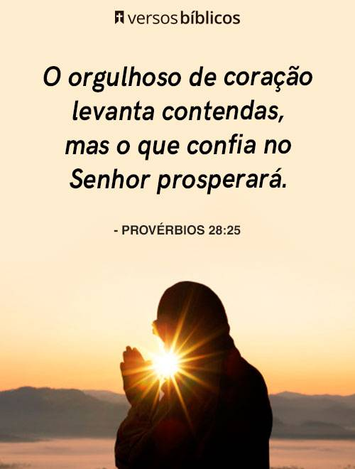 Versículos de Provérbios cheios de Bençãos e Amor 5