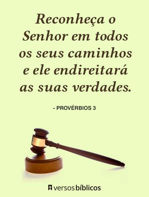 Versículos de Provérbios cheios de Bençãos e Amor 3
