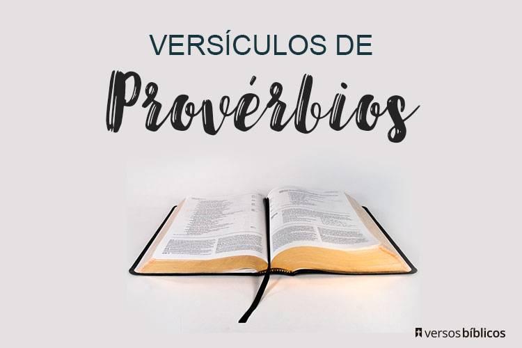 Versículos de Provérbios cheios de Bençãos e Amor 72