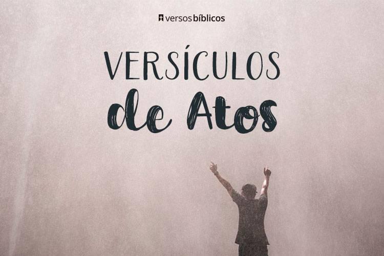 Versículos de Atos dos Apóstolos 1