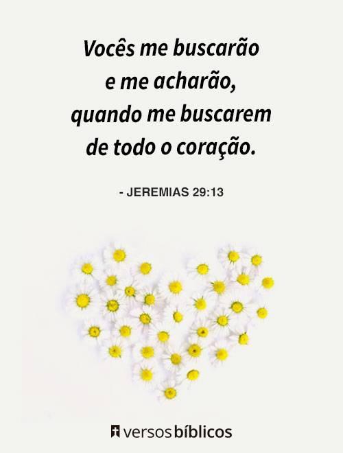 Versículos de Jeremias 5