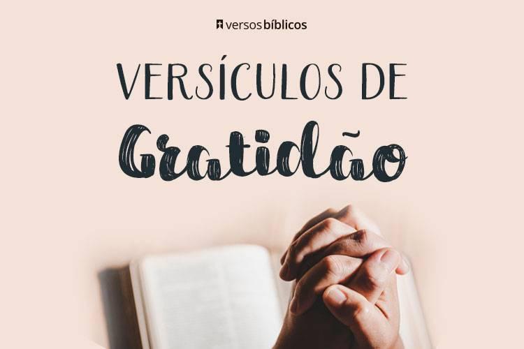 Versículos de Gratidão a Deus 29