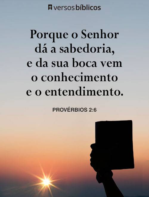 Versículos de Sabedoria com a Palavra de Deus 1