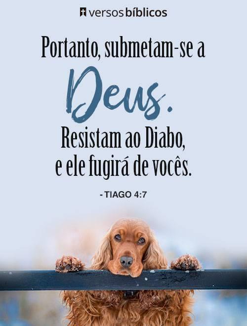 Versículos de Tiago 1