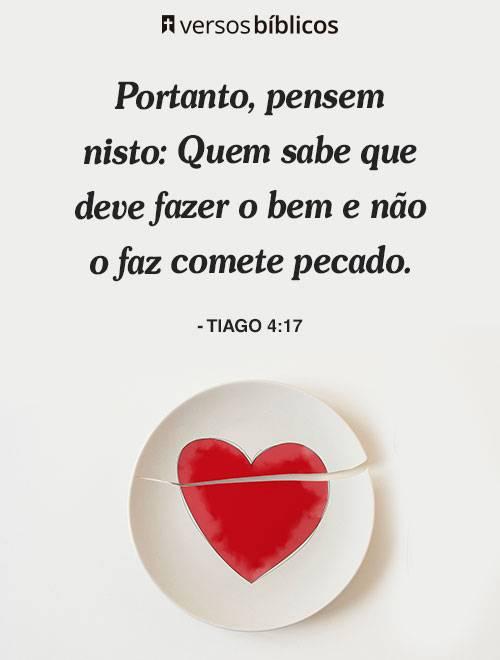 Versículos de Tiago 4