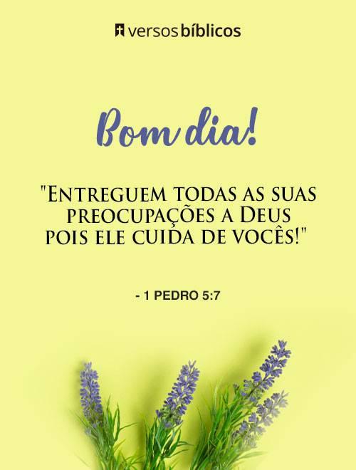 Versículos de Bom Dia Abençoados com a Palavra de Deus 1