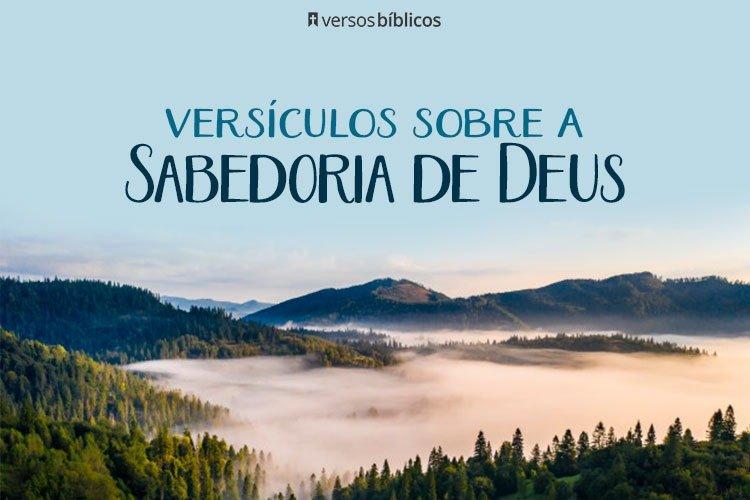 Versículos que falam da Sabedoria de Deus 38