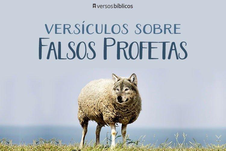 Versículos que Falam sobre Falsos Profetas 28