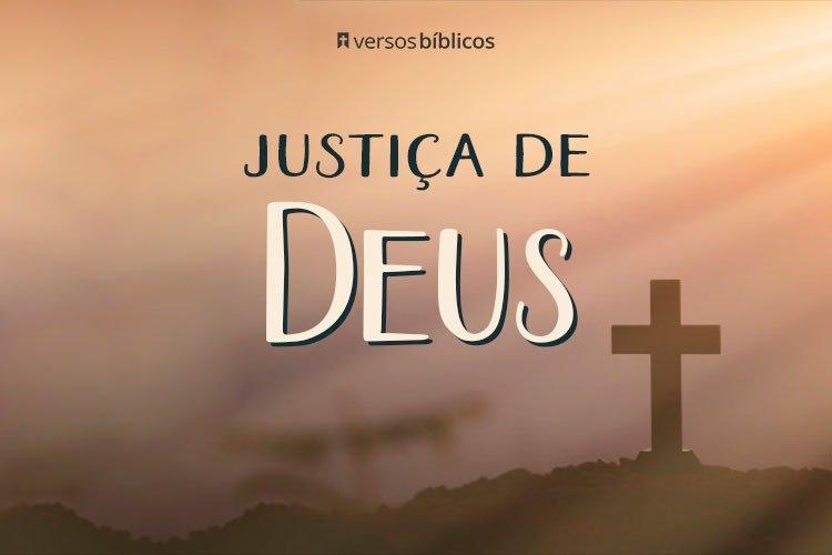 Versículos sobre a Justiça de Deus 17